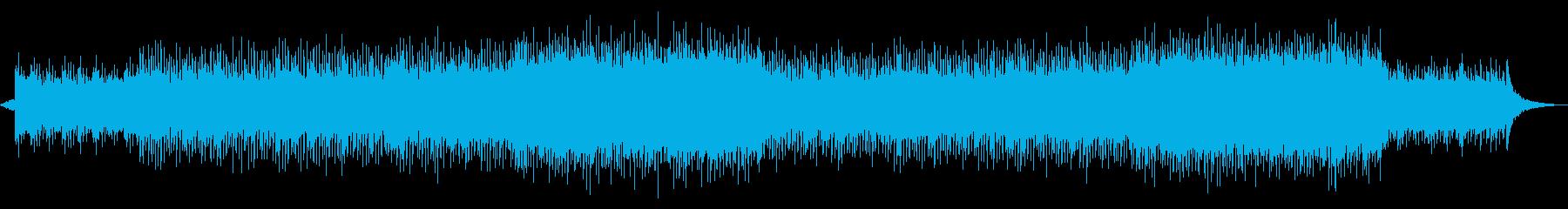 企業映像 未来CM 高揚感オーケストラの再生済みの波形