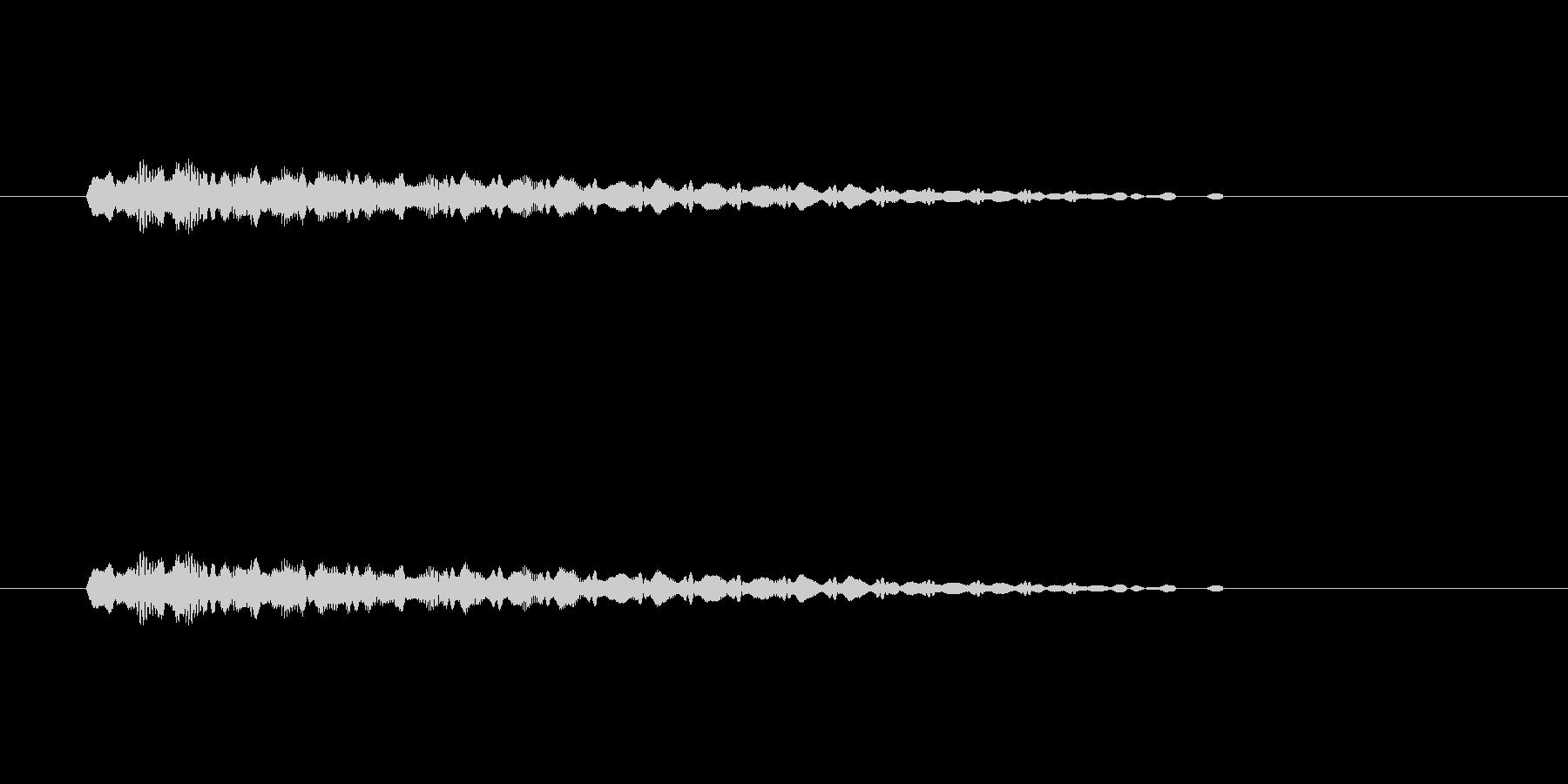 【ショートブリッジ30-4】の未再生の波形