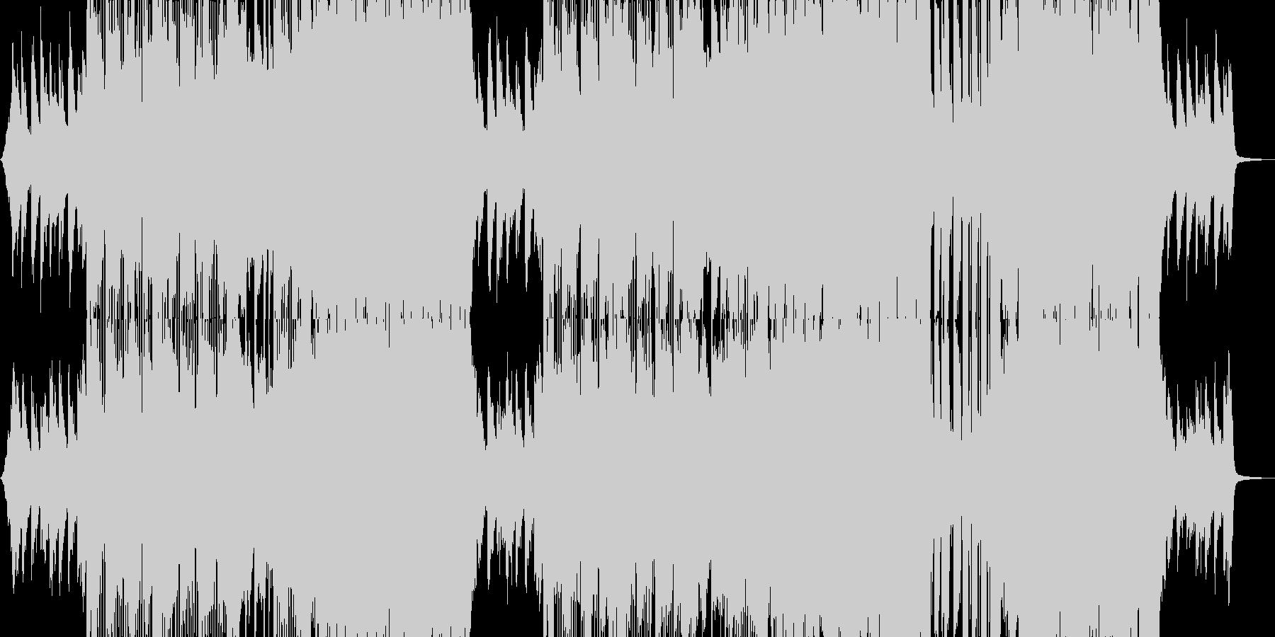 アジアンエレクトロの未再生の波形