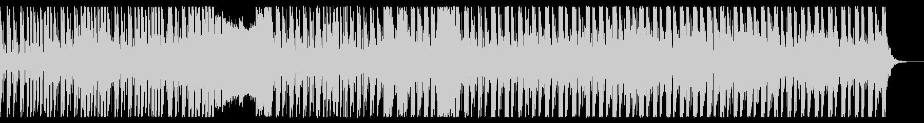 グルーヴィでクールなエレクトロニカの未再生の波形