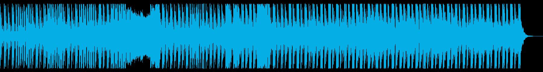 グルーヴィでクールなエレクトロニカの再生済みの波形