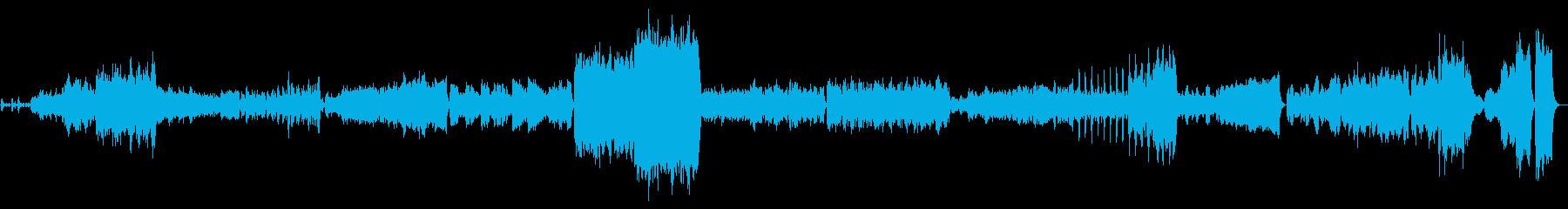 バロックのフォリアをオーケストラにの再生済みの波形