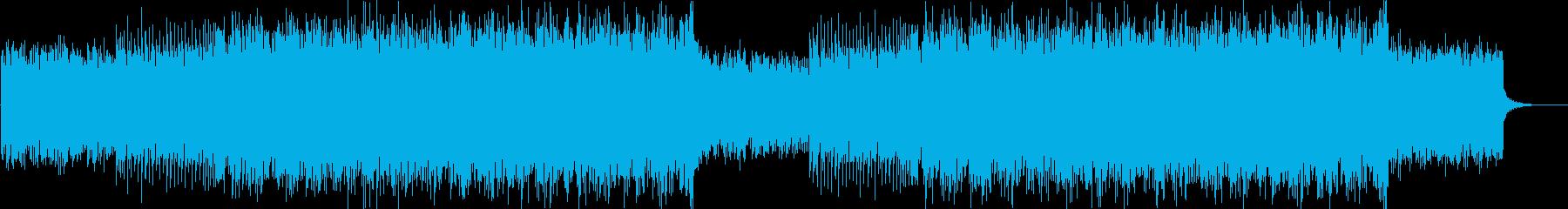 ポップでかわいいFuture Bassの再生済みの波形