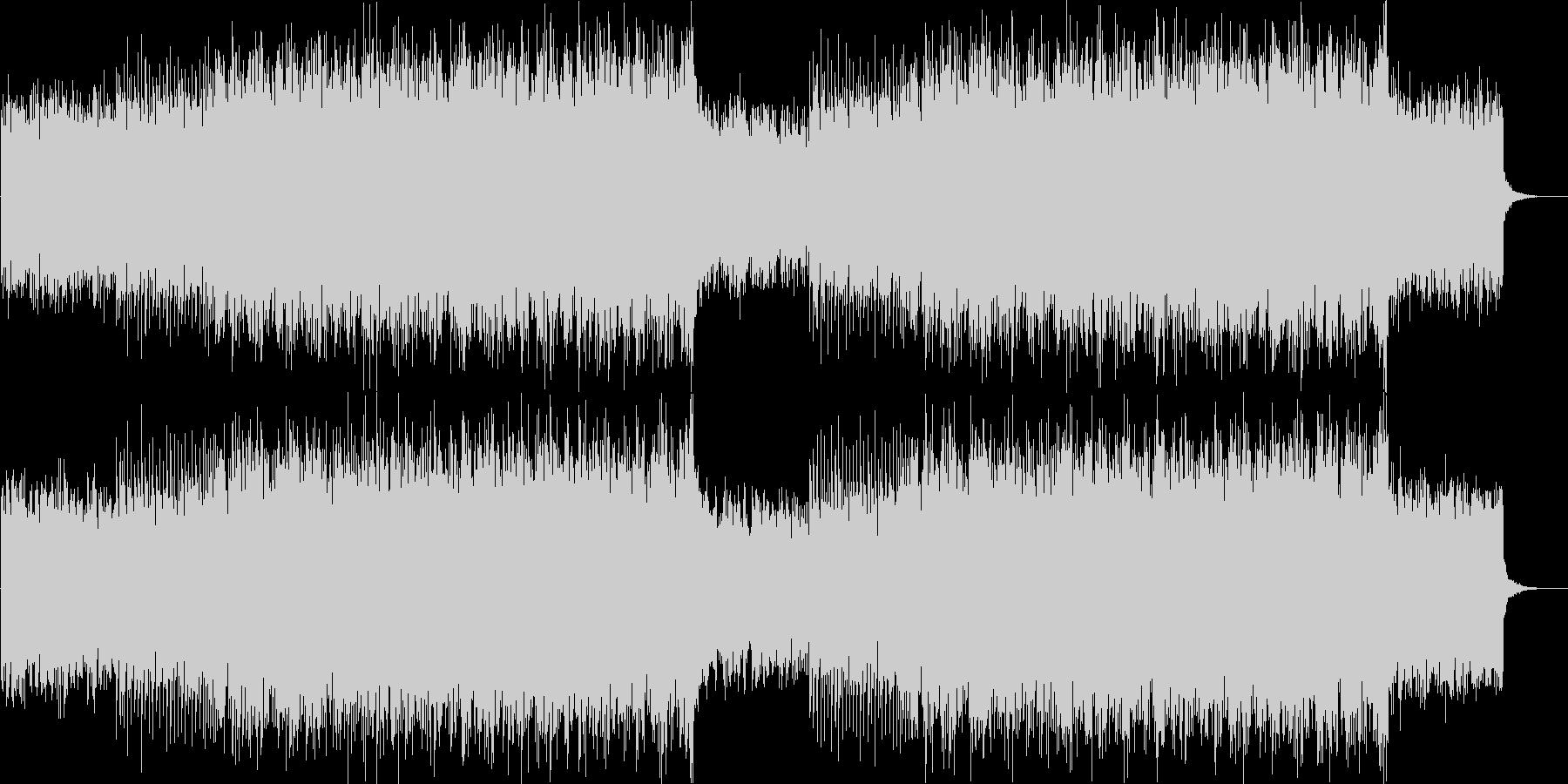 ポップでかわいいFuture Bassの未再生の波形
