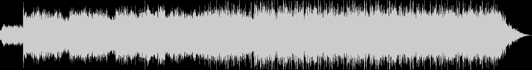 超常現象ミステリー音楽の未再生の波形
