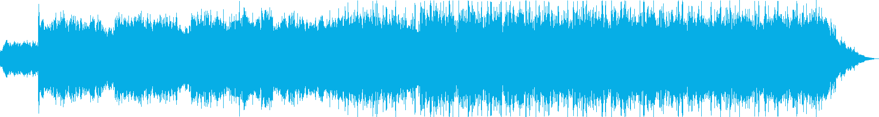 超常現象ミステリー音楽の再生済みの波形