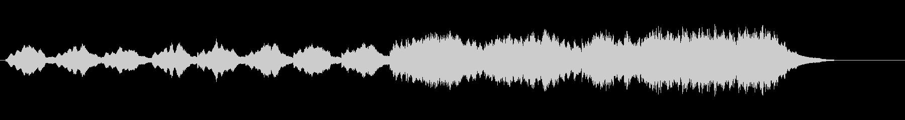 環境音楽(幻想的な雰囲気)の未再生の波形