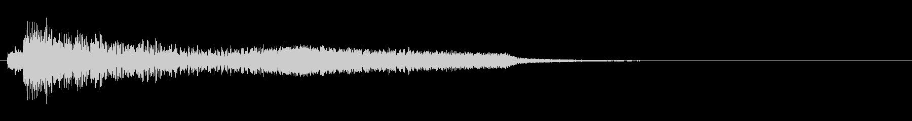 ピアノやシンセを使った綺麗な儚げジングルの未再生の波形