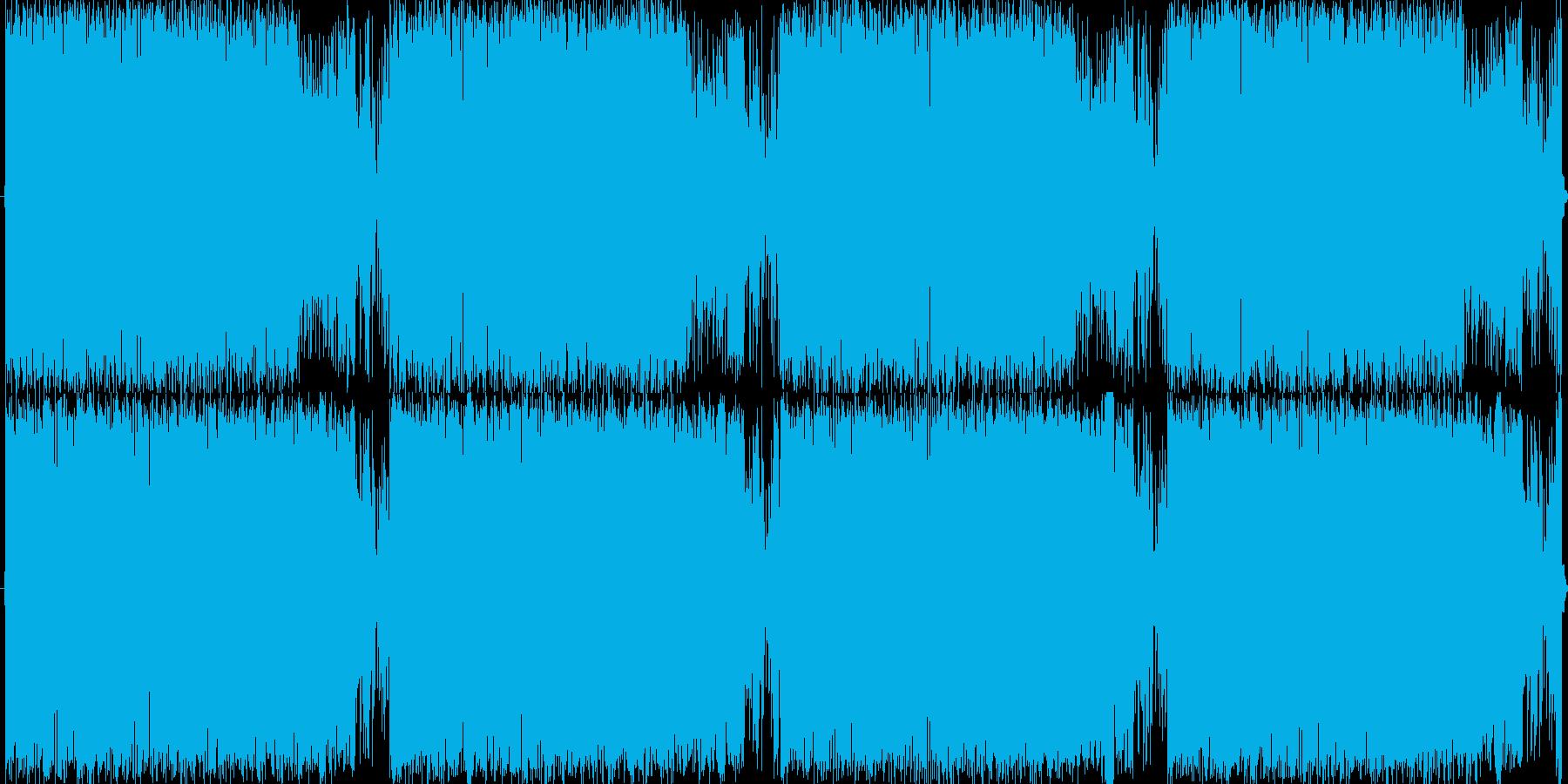 ファンキーなエレピ。近未来でスリリングの再生済みの波形
