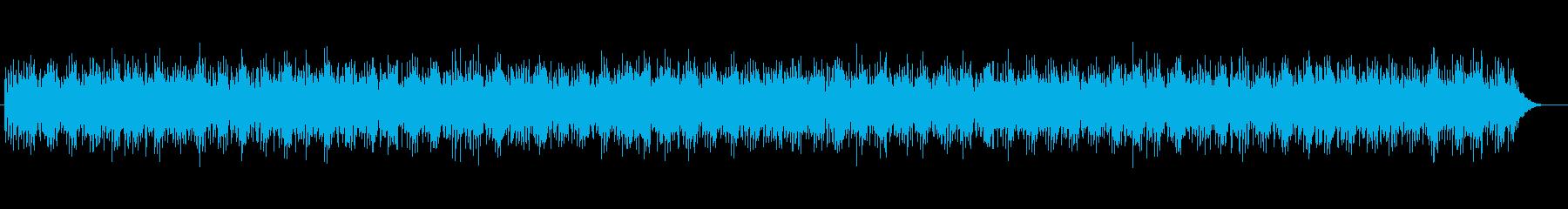 透明感とミステリアスなシンセテクノの再生済みの波形