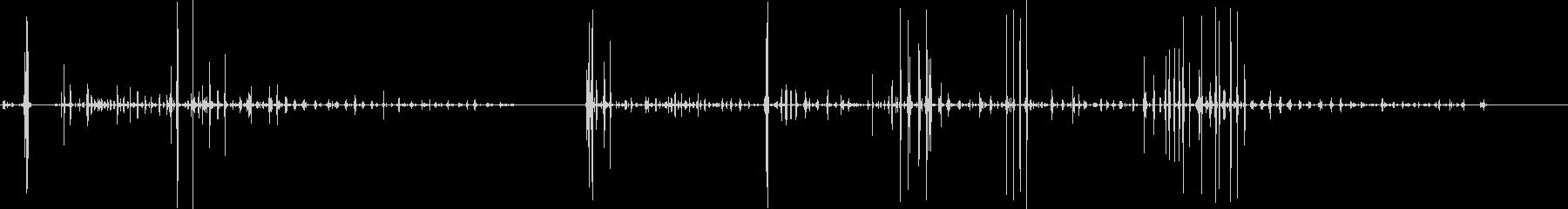 食べる-噛む-動物-人工-3バージョン4の未再生の波形