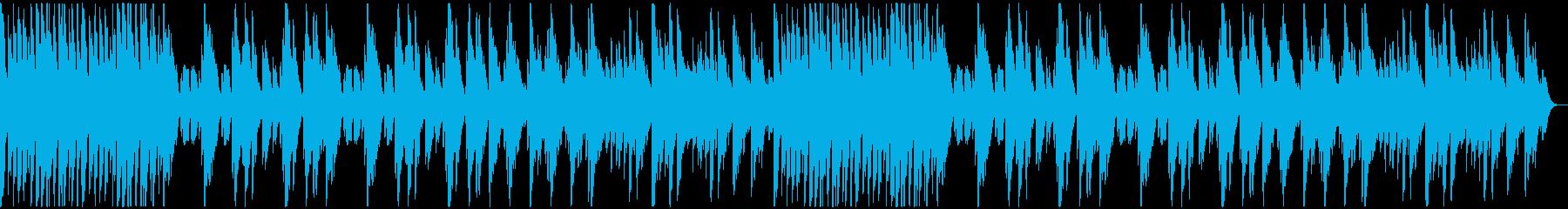 軽快なリズムのソロ・ピアノ曲の再生済みの波形