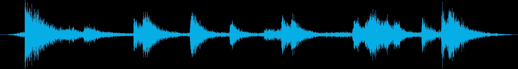 大きい金属ビーム:コンテナ、ヘビー...の再生済みの波形