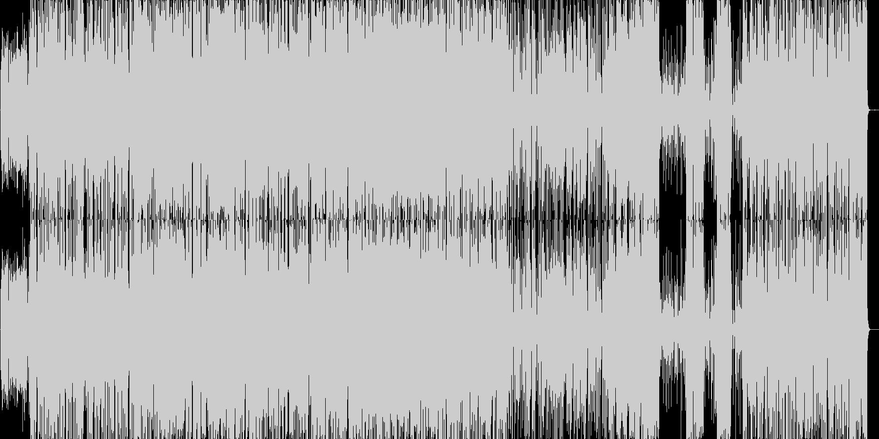 ガーシュウィンの早めジャズピアノトリオの未再生の波形