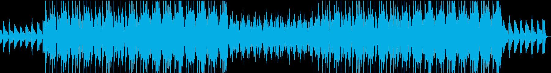 ウェスタンな雰囲気のトラップビートの再生済みの波形