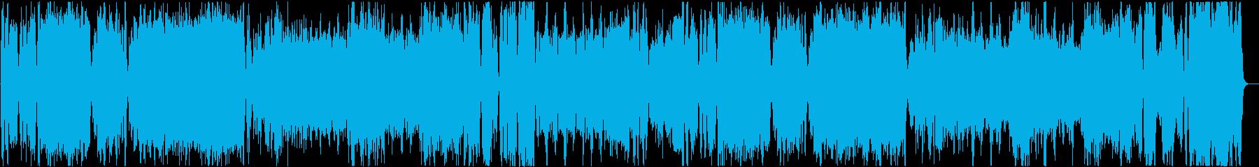 クラシックの定番モーツァルトのアイネク。の再生済みの波形
