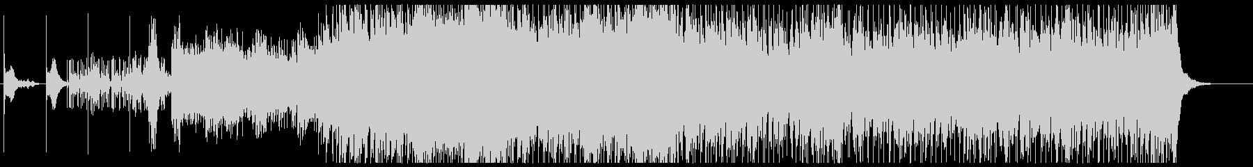 ダーク&クールなオーケストラロックの未再生の波形