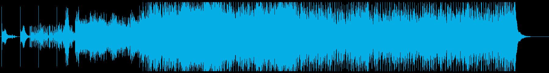 ダーク&クールなオーケストラロックの再生済みの波形