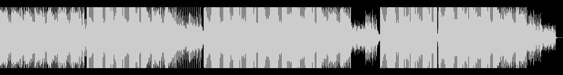 【メロディー無】80年代風テクノポップの未再生の波形