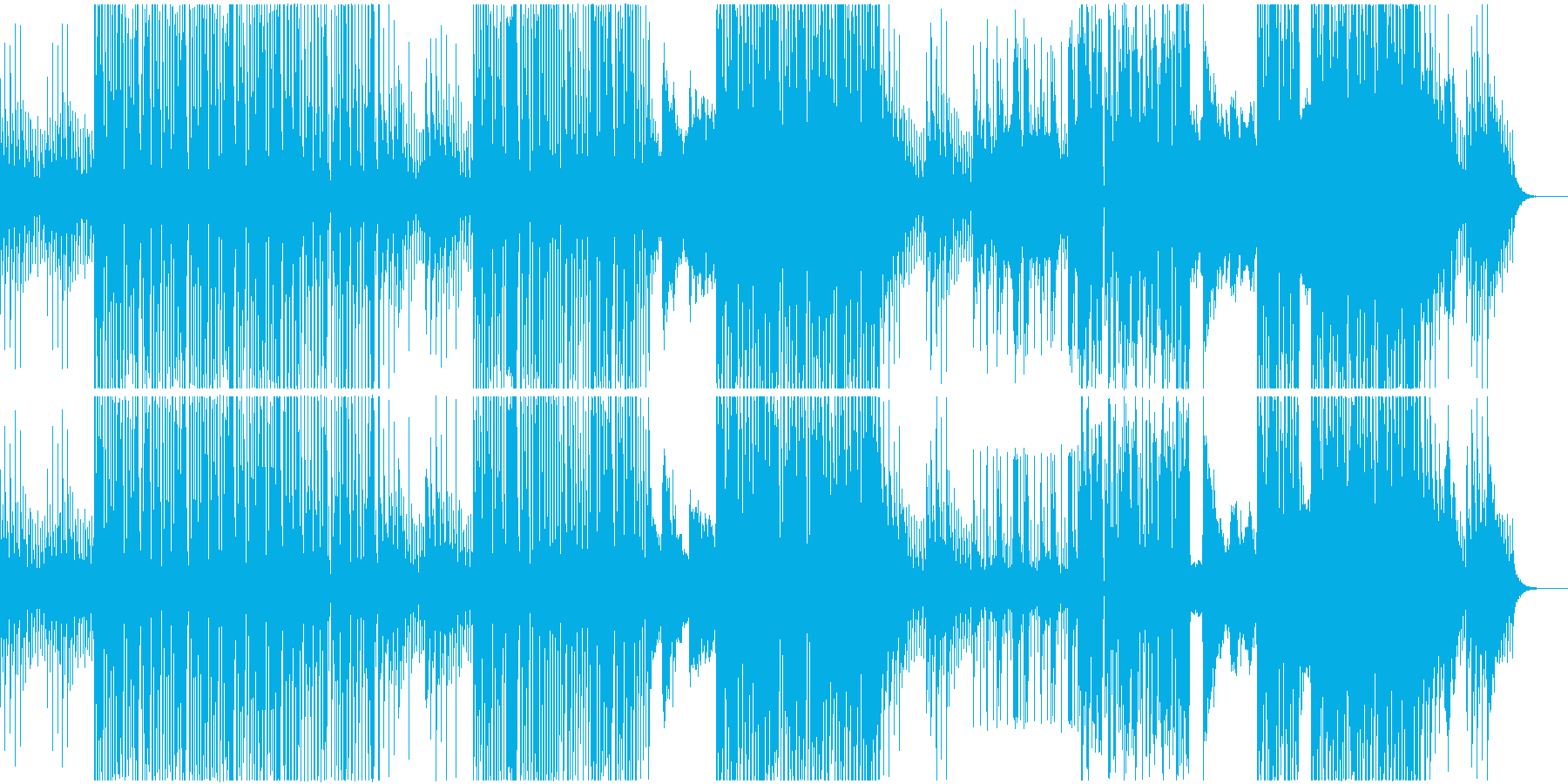 強いコーポレート系EDM。勝てるBGM。の再生済みの波形