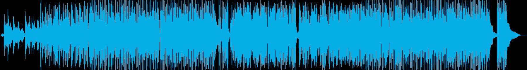 ラテン系 センチメンタル アクショ...の再生済みの波形