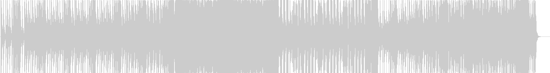 EDM+スパニッシュアンセムの未再生の波形