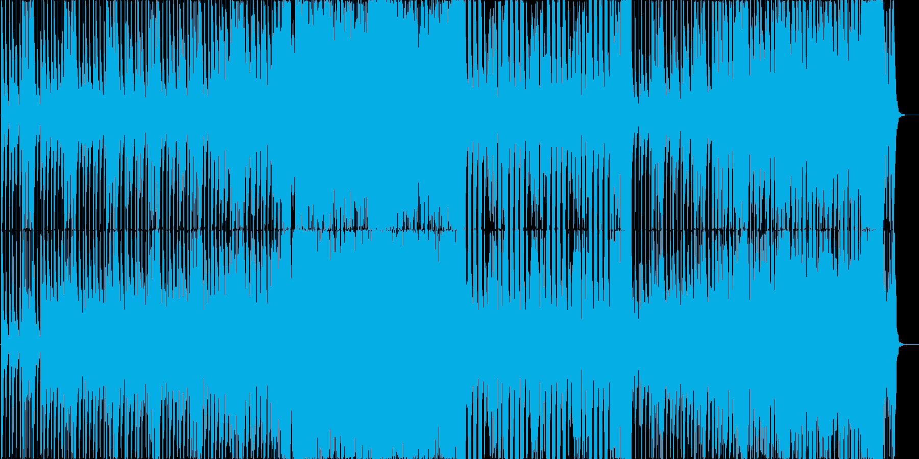 EDM+スパニッシュアンセムの再生済みの波形