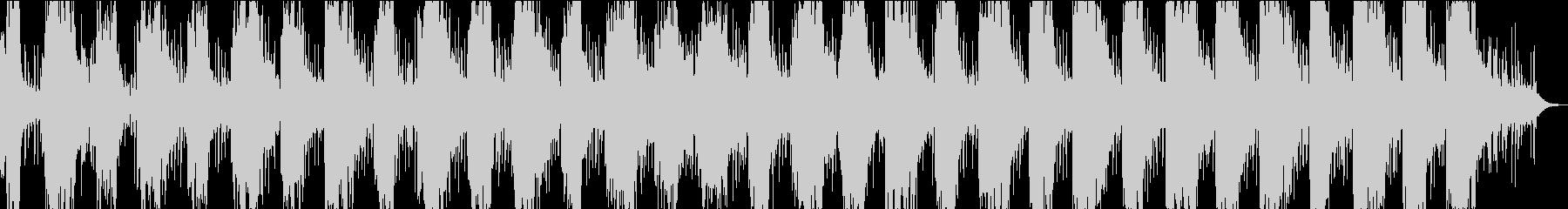 柔らかく泡のあるシンセラインを使用...の未再生の波形