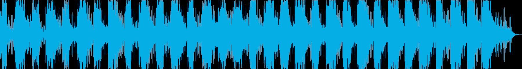 柔らかく泡のあるシンセラインを使用...の再生済みの波形