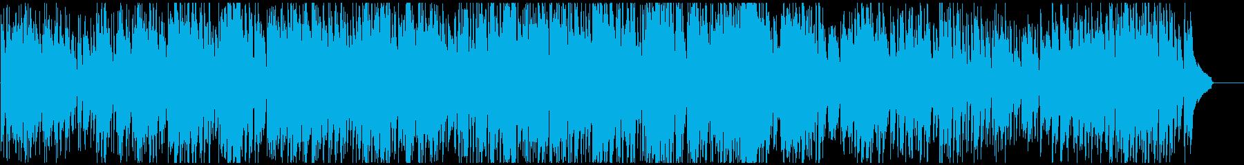 ゆるい優しいジャズ バリトンSax生演奏の再生済みの波形