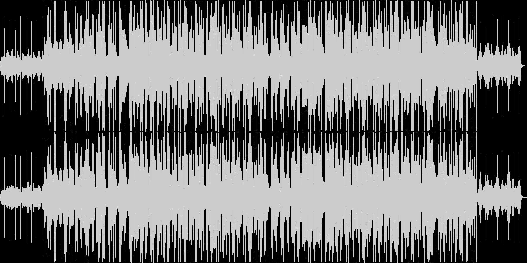 R&B英語/女性ボーカル/お洒落の未再生の波形