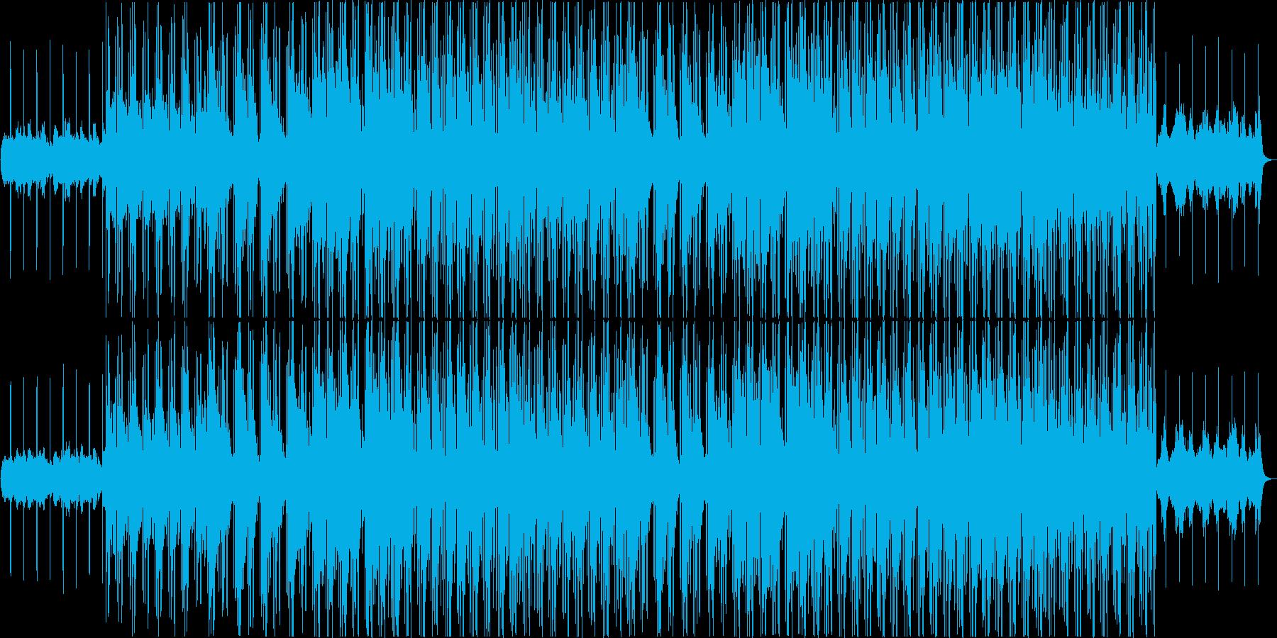 R&B英語/女性ボーカル/お洒落の再生済みの波形