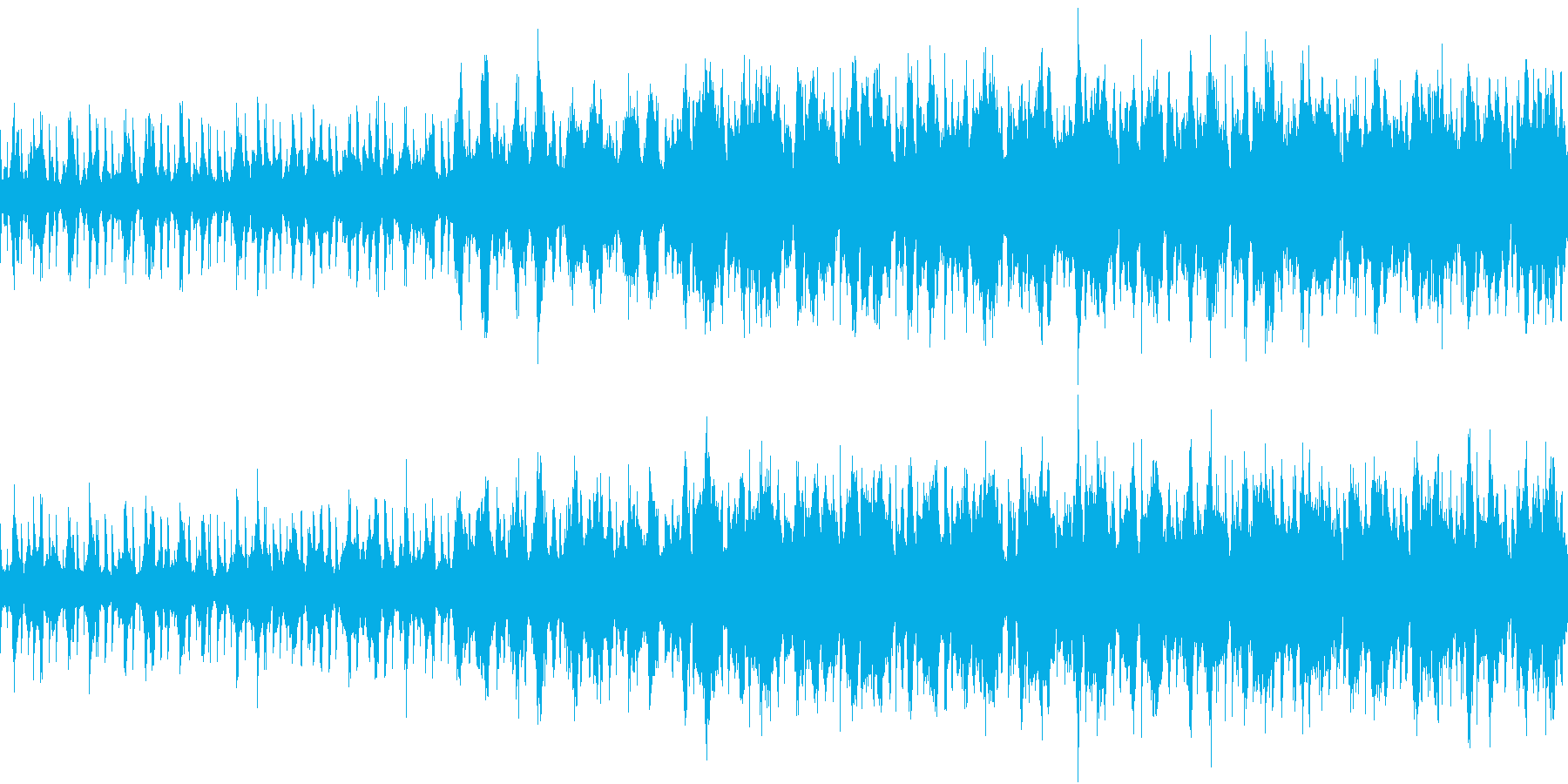 薄暗い雰囲気のLo-fiの再生済みの波形