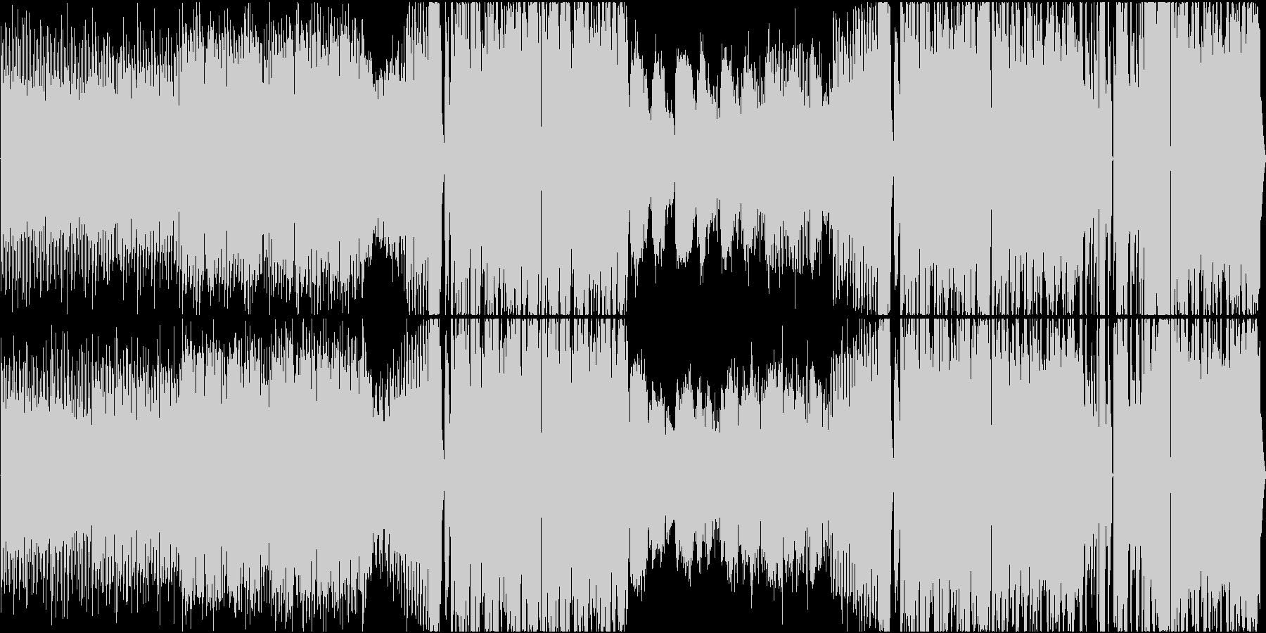 ダブステップ スタイリッシュ 燃え...の未再生の波形