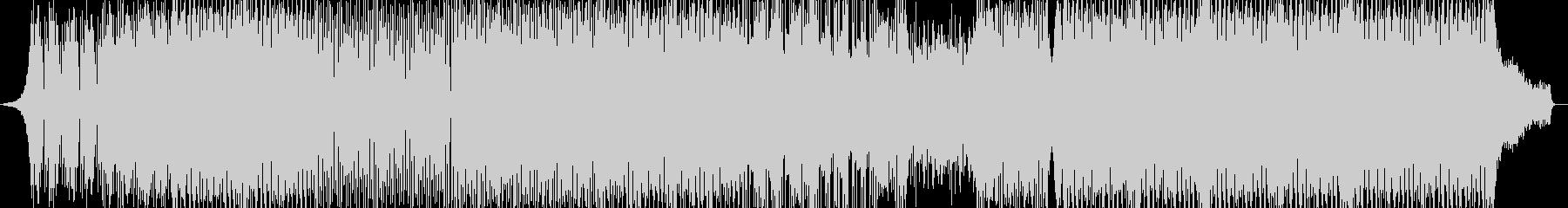 洋楽、元気系EDMトラックの未再生の波形