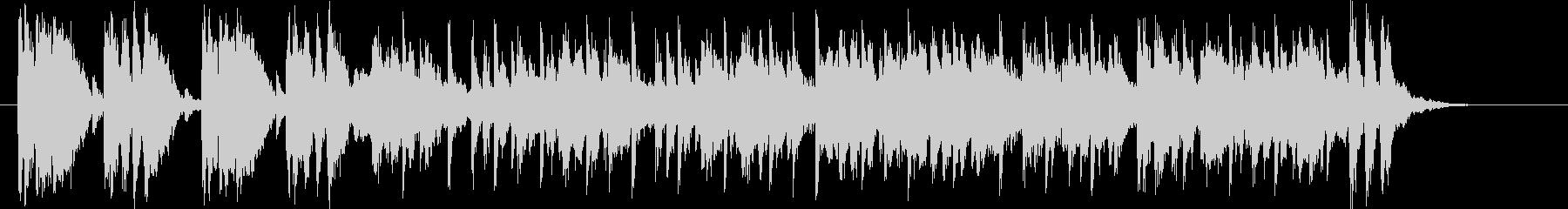 激しくテンションアップの音楽の未再生の波形