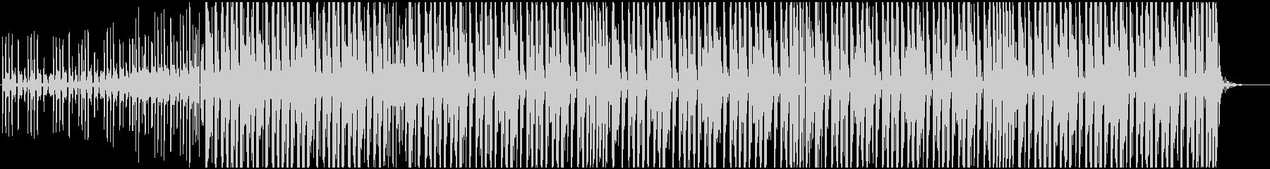 切ない感じのfuture bass系BGの未再生の波形