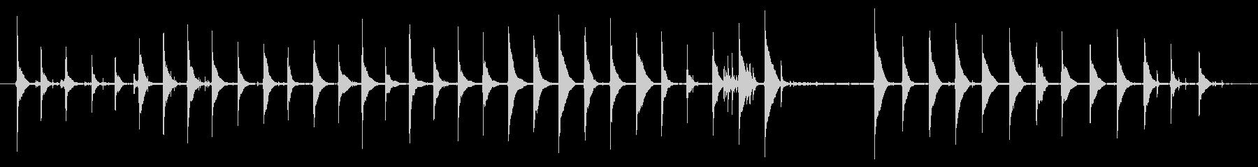 空気圧ハンマー1の未再生の波形