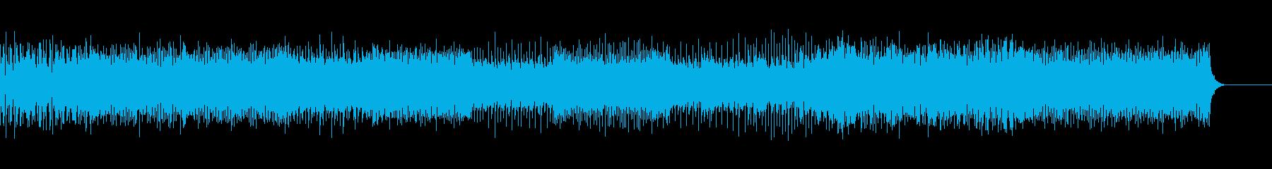 未来感のあるEDMサウンドの再生済みの波形