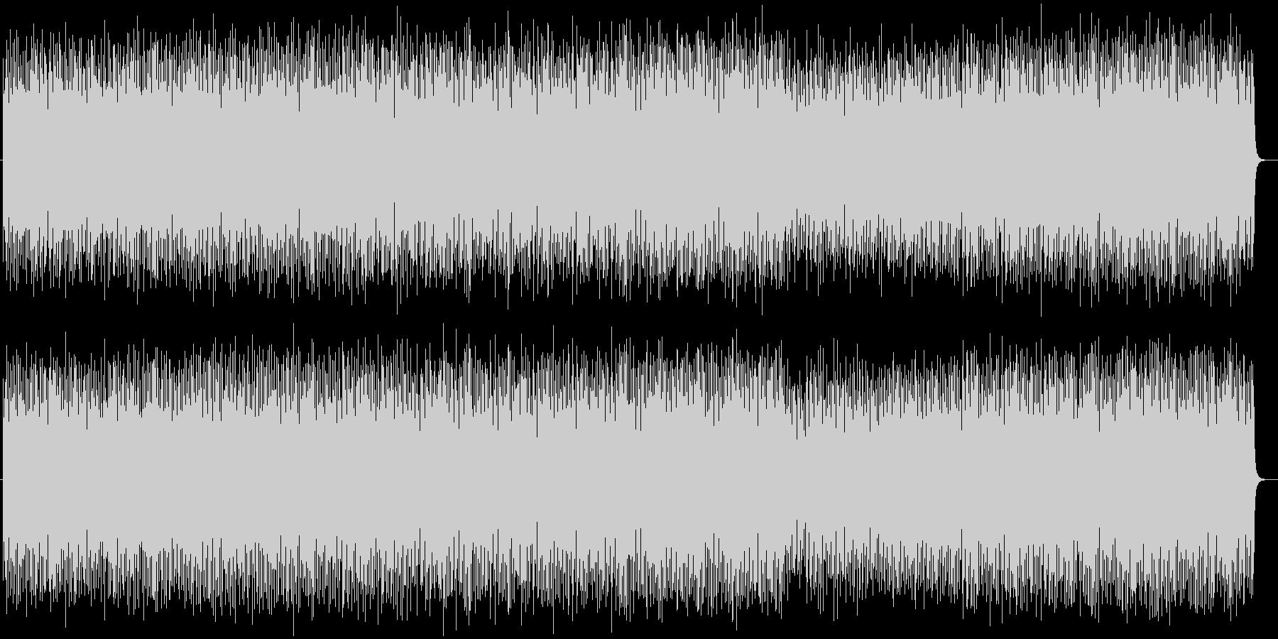 ゲームBGMポップスの未再生の波形