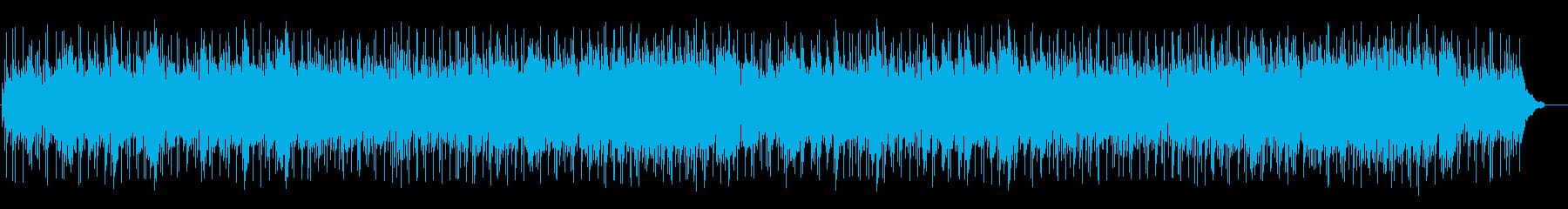 望郷のほのぼの和風ポップスの再生済みの波形