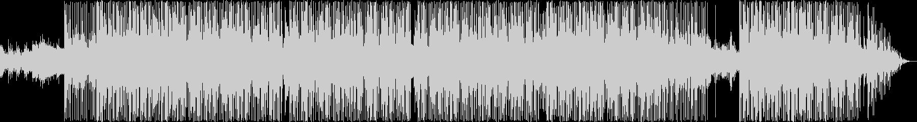 ヒップホップジャズトラックの未再生の波形