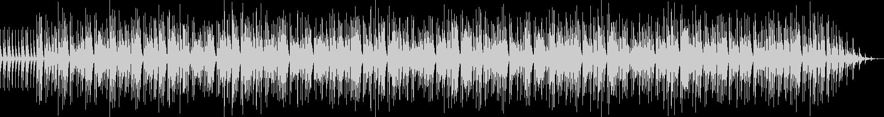 のんびりとした優しいマリンバ音楽の未再生の波形