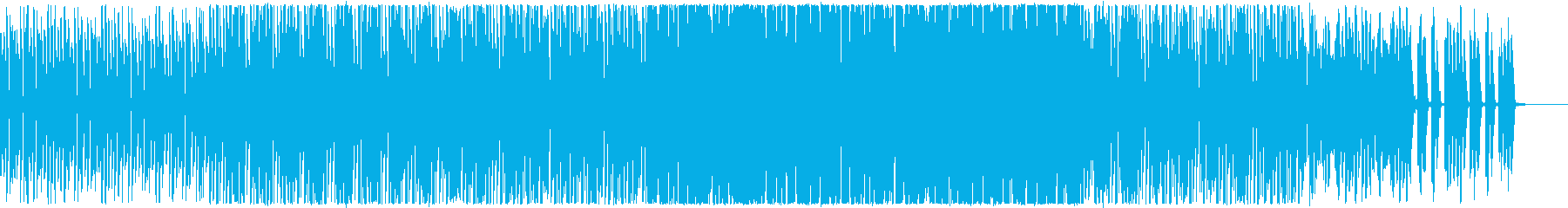 男女間会話の合致性の無さを感じる楽曲の再生済みの波形