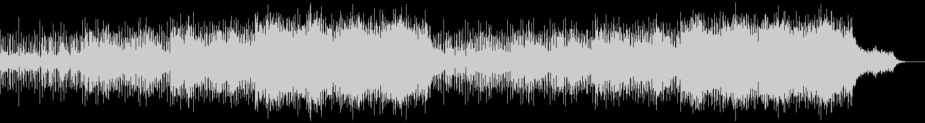 壮大なスケールのシネマティック系の曲の未再生の波形