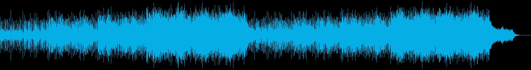 壮大なスケールのシネマティック系の曲の再生済みの波形