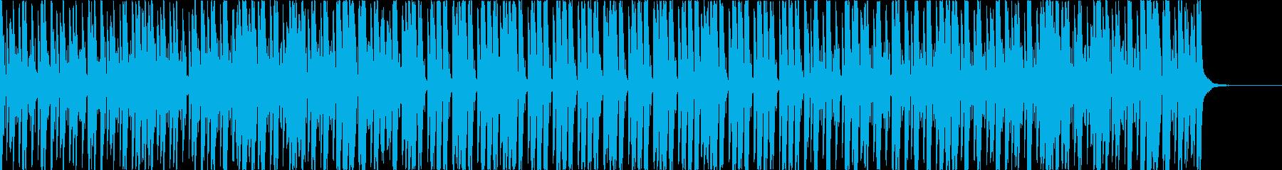 ピアノと弦のおしゃれなポップハウスの再生済みの波形