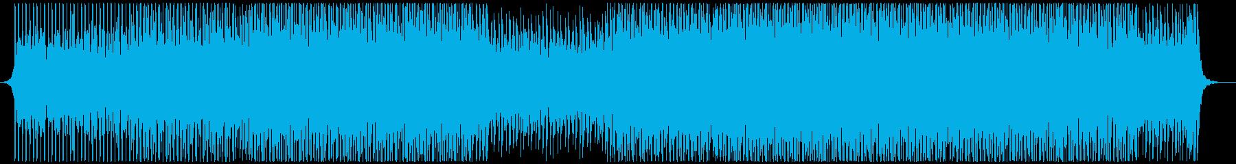 高揚感あふれるポップの再生済みの波形