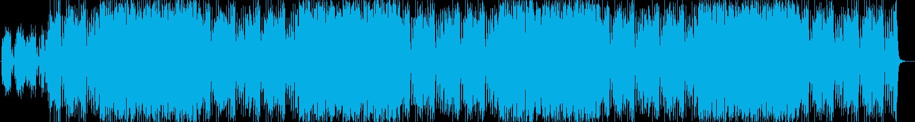 ハロウィン・ダーク・城・ミステリアスの再生済みの波形