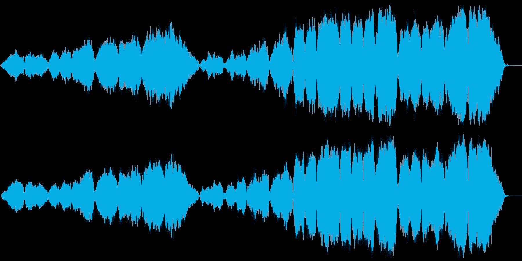 ソプラノ・ヴォイスを用いたクラシカルで…の再生済みの波形